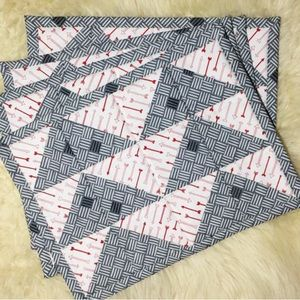Set of Quilted Placemats